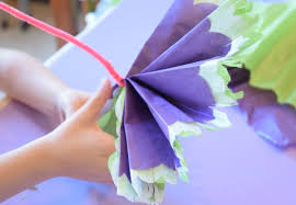 Paper Flower Crafts For Kindergarten Paper Flower For Kids Rome Fontanacountryinn Com