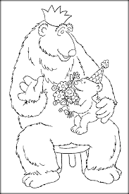 Small Picture Bears In Blue House Coloring Pages For Preschoolers Color Zini
