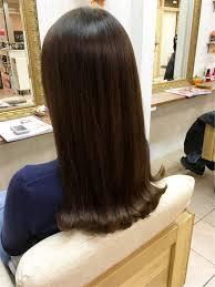 韓国オルチャンヘア弘大にいそうな外ハネセミロングの髪型で韓国語を学
