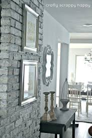 awesome faux painted brick wall interior ideas paint best walls on painting fake