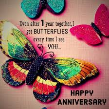 First Anniversary Quotes And Messages For Him And Her Holidappy Amazing One Year Complete Engagement Status Hubby
