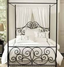 Wrought iron canopy bed? in 2019 | Bohemian Home | Iron canopy bed ...
