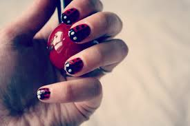 Leanne Marie.: How to : Ladybird Nail Art Tutorial.