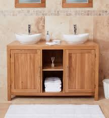 Stunning baumhaus mobel Filing Cabinet Home Other Rooms Bathroom Furniture Baumhaus Mobel Oak Solid Dual Sink Unit With Two Doors round Casamo Baumhaus Mobel Oak Solid Dual Sink Unit With Two Doors round