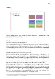 presentation skills training course materials skills converged trainer notes 1 trainer notes 2