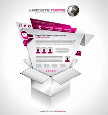 Creative Design Templates Creative Origami For Web Template Vector Set01 Free Download