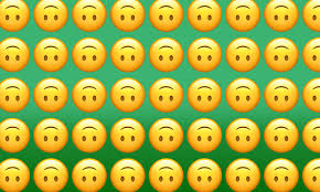 A style of riding skateboards, snowboards, etc. Emojiology Upside Down Face