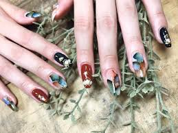Fall Nail Designs 2018 Fall Color Nail Designs Zimer Bwong Co