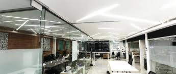 office space lighting. Led Lighting For Office Space Custom Linear Light Modern Spaces