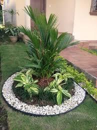 garden design ideas with pebbles