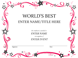 award certificates template award certificate template pinteres