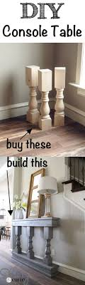 40 High Style Low-Budget Furniture Makeovers You Could Definitely Do. Entry  TablesConsole TablesEntryway ...