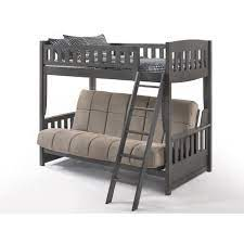 twin over futon bunk bed quality