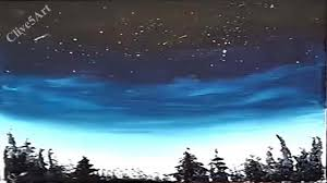 easy night sky acrylic painting for beginners acrylic painting clive5art you