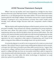 Examples Of Personal Statements Personal Statement Examples And Templates Of What To Include In