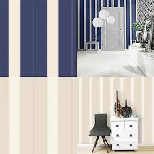 stripe wallpaper striped dots luxury modern decor metallic rasch 2 colours