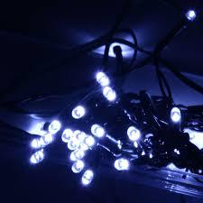 100 White Outdoor Led Solar Fairy Lights Solar Led Christmas Lights Outdoor Solar Christmas Lights
