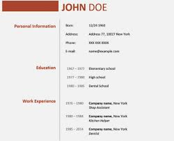 Get 40 Year Old Cv Template Resume Template Wwwmhwaves Stunning 16 Year Old Resume