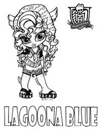 Small Picture monster high pictures to color Free Printable Monster High