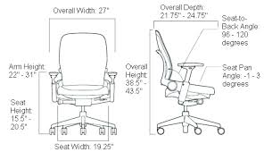 innovation inspiration chair seat height office 23 inches