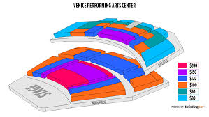 Venice Venice Performing Arts Center Seating Chart