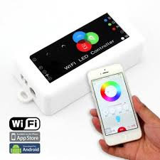 iphone controlled lighting. Smartphone Lighting Control. 4ax3ch, Led Wifi Controller Control Via Ios Or Android Smart Phone Iphone Controlled H