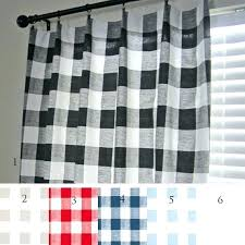 image 0 blue buffalo check curtains navy and white curtain panels black ecru plaid red