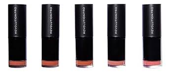 <b>Набор</b> губных <b>помад</b> Lipstick Collection Bare 5шт <b>Revolution PRO</b> ...