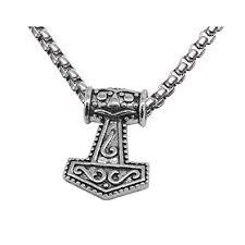 Sullery Myth Thor's <b>Hammer</b> Norse Magick Mjolnir <b>Viking Stainless</b> ...