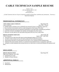resume technician maintenance sample resume examples hvac technician tech maintenance buckey us