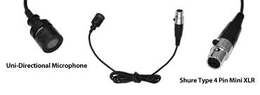 amazon com pyle pro plms30 wired lavalier mini xlr uni shure type 4 pin mini xlr connector uni directional microphone