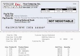 Paycheck Stub Layout Create A Check Stub With Payment Information And Order Details 11g