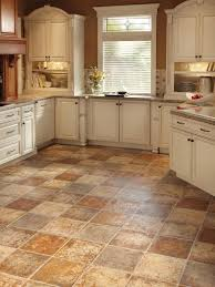 Vinyl Floor Tiles Kitchen Kitchen Vinyl Kitchen Flooring With Nice Vinyl Flooring In The