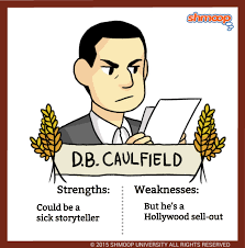 d b caulfield in the catcher in the rye character analysis