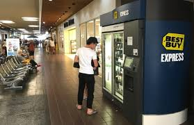 Best Place To Buy Vending Machines Inspiration How To Beat The High Prices Of Best Buy's Airport Kiosks Frommer's
