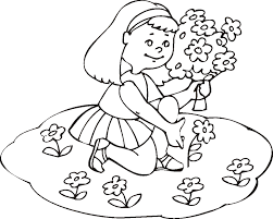 coloring pages of summer fun with flowers for girls 2014 ...