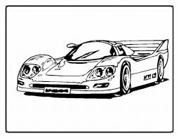 Hot Wheels Car Coloring Page | Free Printable Coloring Pages In ...