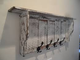 Shabby Chic Coat Rack French Country Coat rack Cottage Chic coat rack Primitive hall 68