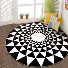 nordic round carpets for living room bedroom large size floor mat computer chair area rug children play mat cloakroom rug carpet carpeting costs berber