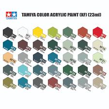 Tamiya Paint Chart 77 Exhaustive Tamiya Model Paint Chart