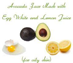 Avocado face pack for oily skin