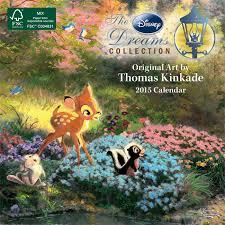 Thomas Kinkade The Disney Dreams Collection 2015 Mini Wall Calendar