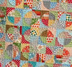 Circle Quilt Patterns Adorable Raw Edge Circle Quilt Cluck Cluck Sew