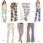 How to wear printed jogger pants
