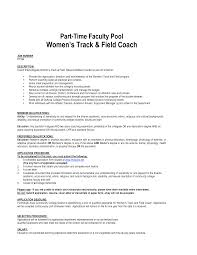 Track Coach Cover Letter Sample Resume Cover Letter For Food