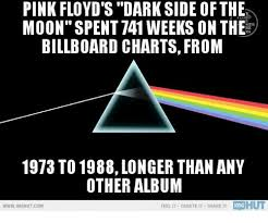 Billboard Charts 1973 By Week Pink Floyds Dark Side Of The Yd Moon Spent 741 Weeks On The