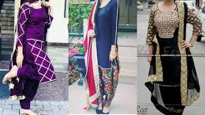 Punjabi New Suit Design 2018 Latest Punjabi Suit Designs 2018 Brand New Styles Of