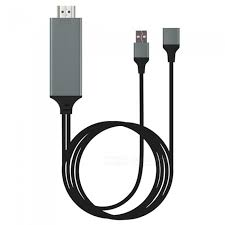 iphone to hdmi. cwxuan usb female to hdmi adapter cable for iphone / android (1.8m) iphone hdmi y