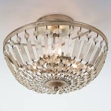 crystal semi flush mount lighting 145 best crystal clear glass images on