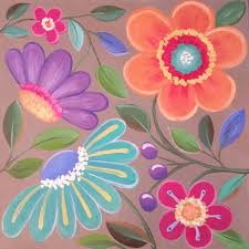 flower painting in acrylic easy whimsical flowers acrylic painting tutorial for beginners flower painting tutorial flowers healthy